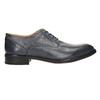 Men's blue leather shoes bata, blue , 826-9913 - 15