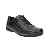 Men's leather sneakers bata, black , 824-6921 - 13