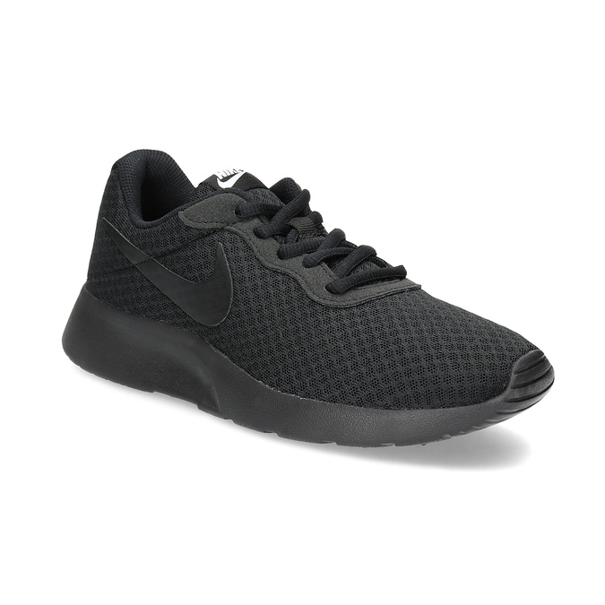 Ladies' black sneakers nike, black , 509-0157 - 13