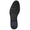 Men's leather Ombré shoes bata, brown , 826-3914 - 19
