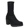 High Boots with Sturdy Heel vagabond, black , 729-6041 - 13