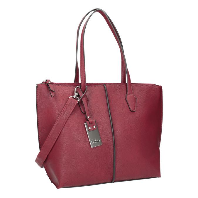 Red Ladies' Handbag gabor-bags, red , 961-5059 - 13