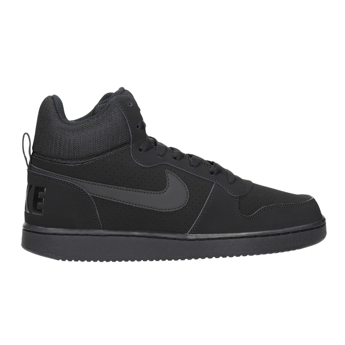 Men's High-Top Sneakers nike, black , 801-6532 - 26