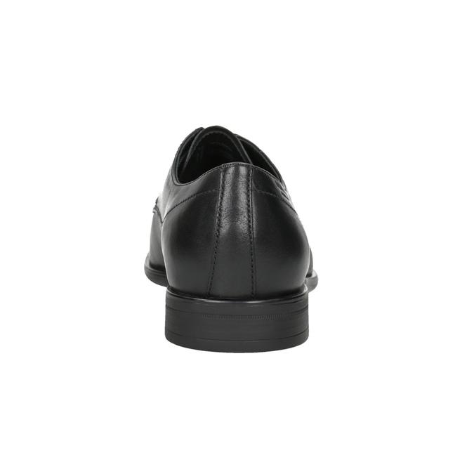 Men's Leather Lace-Ups vagabond, black , 824-6026 - 16