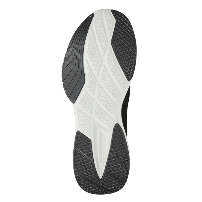 Black Men's Sneakers skechers, black , 809-6330 - 17