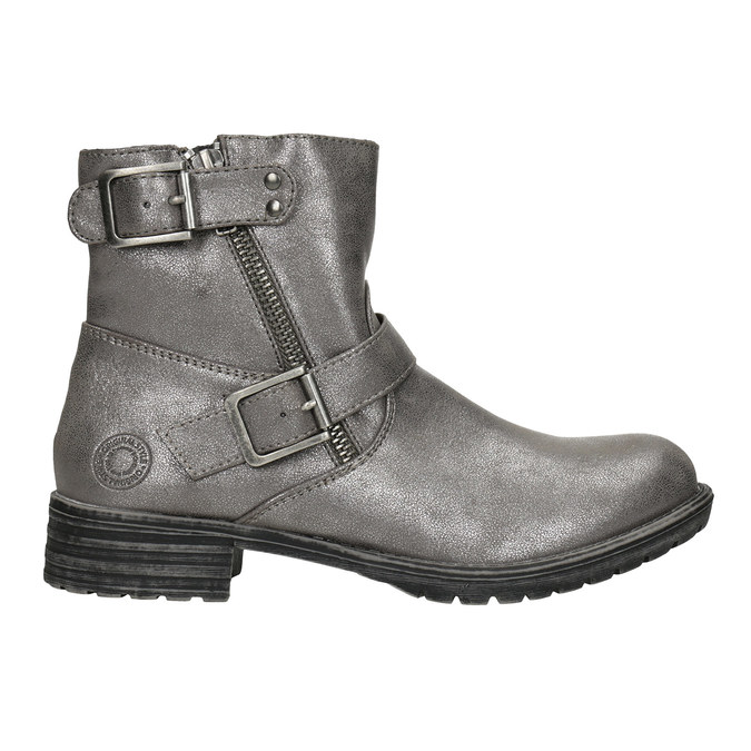 Girls' High Boots with Buckles bullboxer, 491-8021 - 26