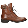 Ladies' leather high boots bata, brown , 596-4680 - 26