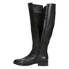Ladies' Black Leather High Boots gabor, black , 694-6164 - 15