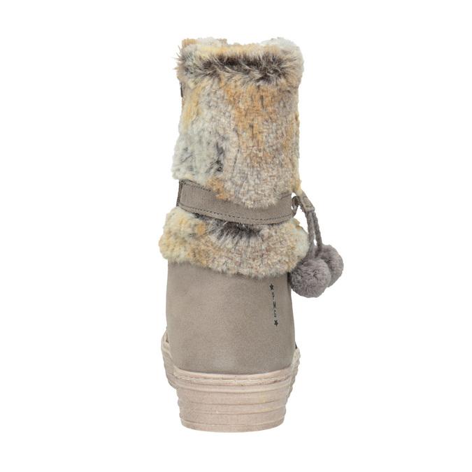 Children's winter boots with fur primigi, beige , 393-8015 - 16