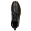 Men's Leather Ankle Boots bata, black , 896-6667 - 26