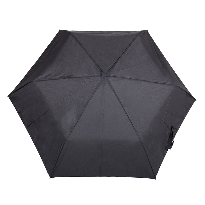 Black folding umbrella doppler, black , 909-6659 - 26