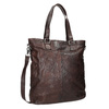 Brown Leather Handbag bata, brown , 964-4245 - 13