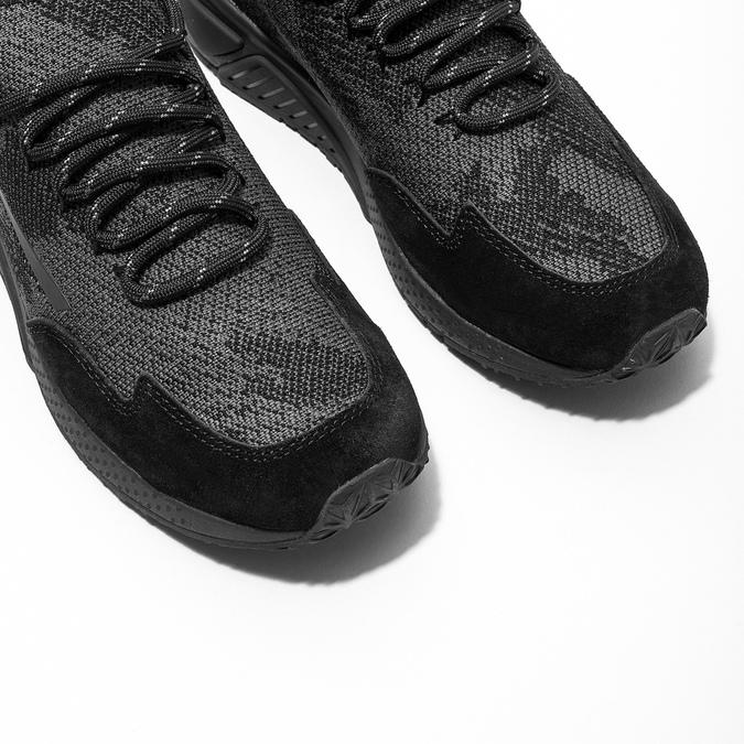 Ladies' sporty sneakers diesel, black , 509-6760 - 14