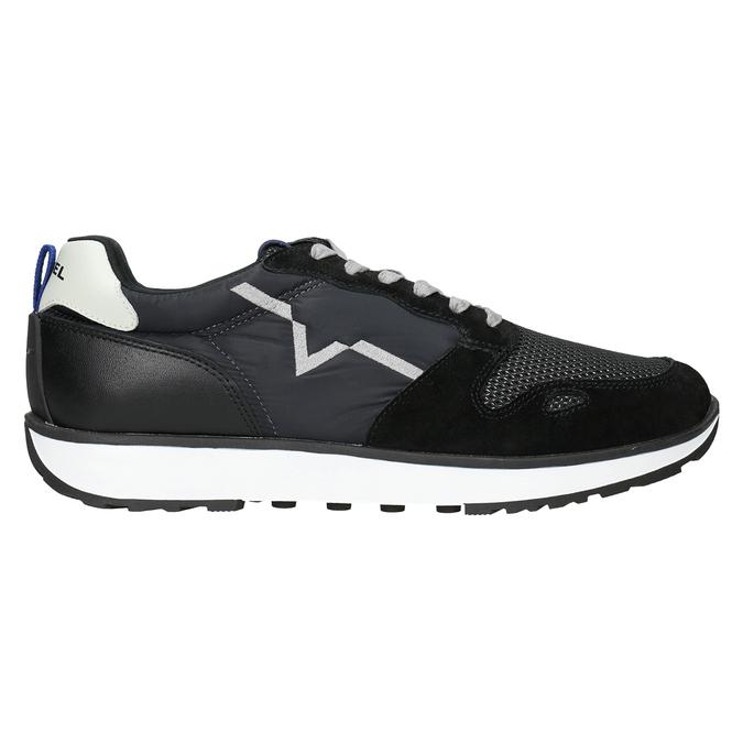 Men's casual sneakers diesel, black , 809-6638 - 26