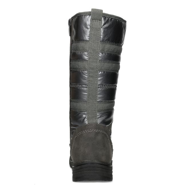 Ladies' winter snow boots bata, gray , 599-2619 - 15