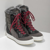 Ladies' leather snow boots weinbrenner, gray , 593-4601 - 26