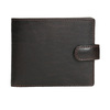 Men's leather wallet bata, brown , 944-4202 - 26
