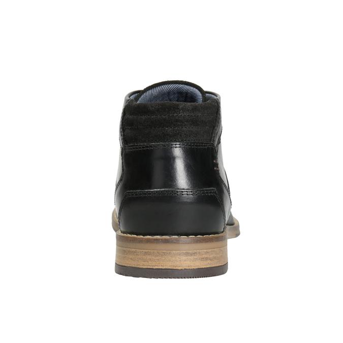 Men's ankle boots bata, black , 826-6926 - 16