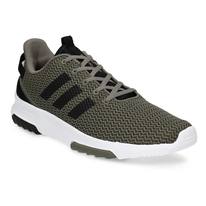 Sneakers in a sport design adidas, khaki, 809-7201 - 13