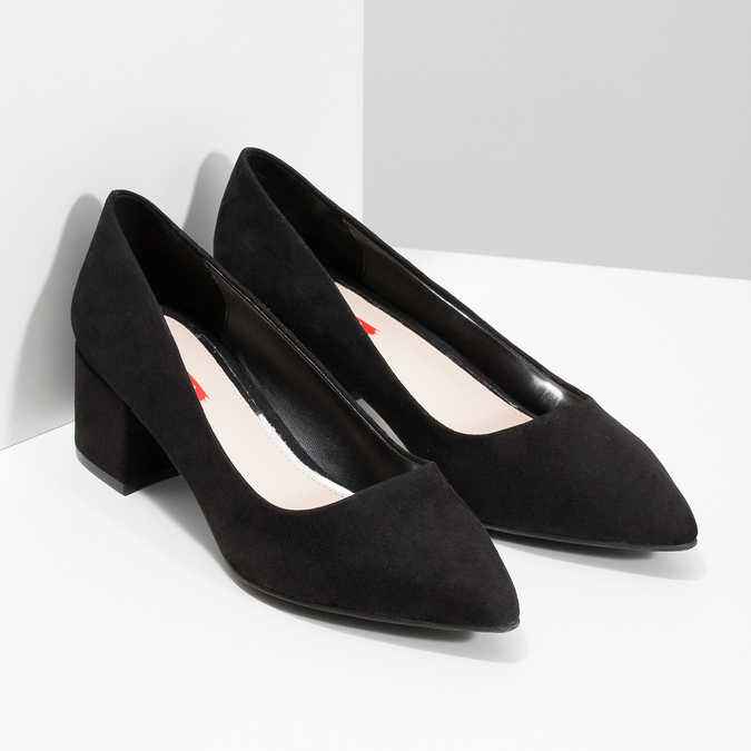 6296640 bata-red-label, black , 629-6640 - 26
