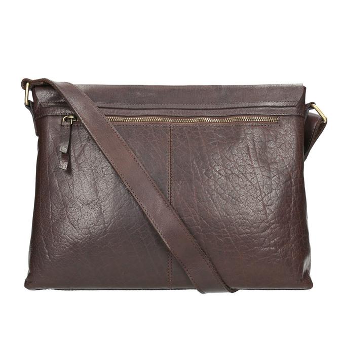 Men's Leather Bag bata, brown , 964-4235 - 26