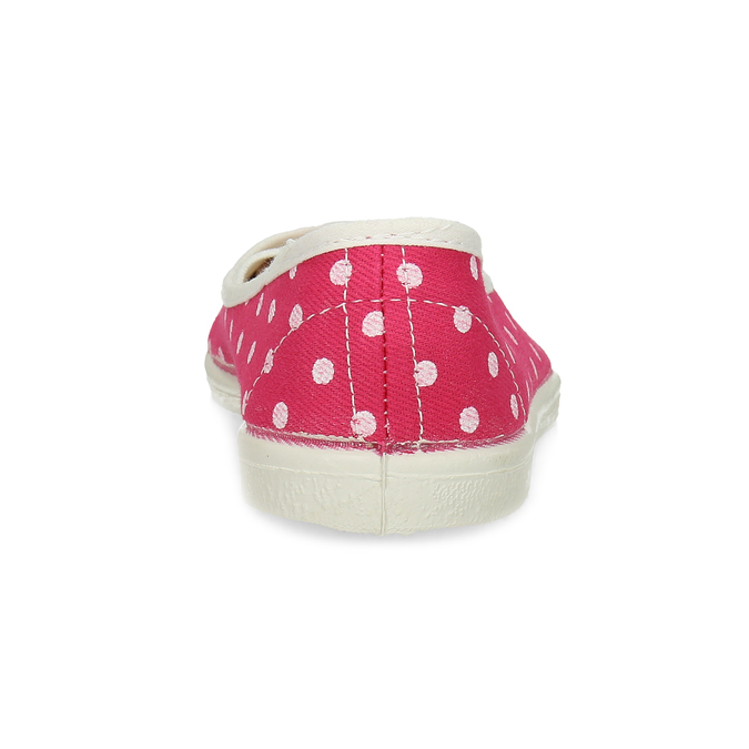 Kids' gym shoes with dots, pink , 279-5102 - 15